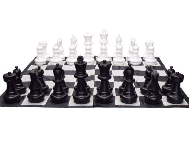 Giant Chess Pieces 40cm Pieces Only Jumbo Chess