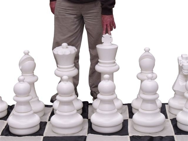 Giant Chess Pieces 64cm Pieces Only Jumbo Chess